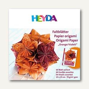Faltblätter Origami