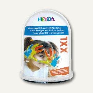 Heyda Schneekugel, auswechselbares Bilderfach, 11 x 14 cm, 204888402
