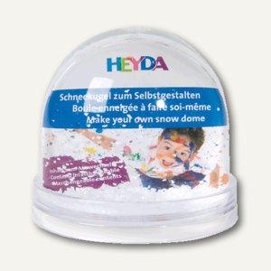 Heyda Schneekugel, auswechselbares Bilderfach, 9 x 8.5 cm, 204888400