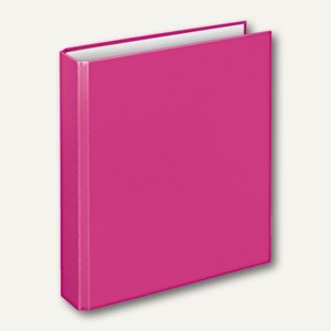 "Ringbücher ""Basic"", DIN A5, PP, 4-D-Ringe Ø 25 mm, pink, 10 Stück, 1153071"