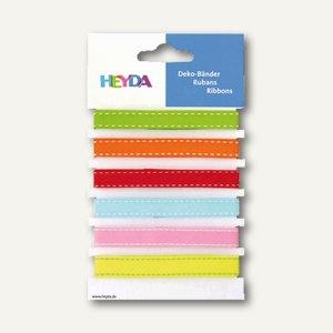 Heyda Dekobänder, 90 cm, bunt, 6 Stück, 204883365