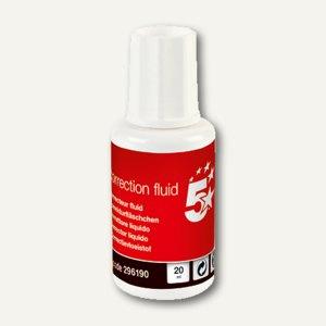 officio Korrekturflüssigkeit, 20 ml, weiß