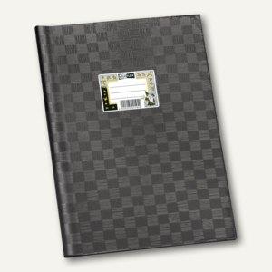 Veloflex Schulhefthülle, DIN A4, PP-Folie, schwarz, 25 Stück, 1342080