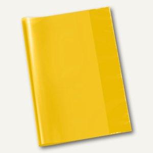 Veloflex Schulhefthülle, DIN A4, PP-Folie, transparent-gelb, 25 Stück, 1343010