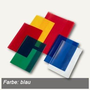 Veloflex Schulhefthülle, DIN A4, PP-Folie, transparent-blau, 25 Stück, 1343050