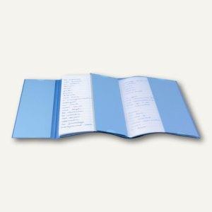 Veloflex Vokabeltrainer EP, DIN A4, PVC-Folie, transparent, 1349090