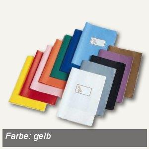 Veloflex Schulhefthülle, DIN A5, PP-Folie, gelb, 25 Stück, 1352010