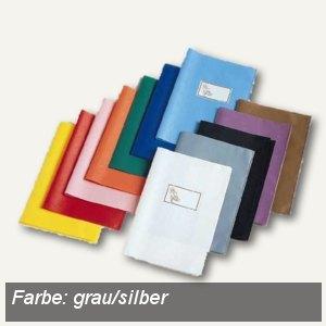 Veloflex Schulhefthülle, DIN A5, PP-Folie, grau/silber, 25 Stück, 1352081