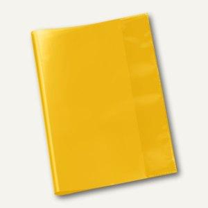 Veloflex Schulhefthülle, DIN A5, PP-Folie, transparent-gelb, 25 Stück, 1353010