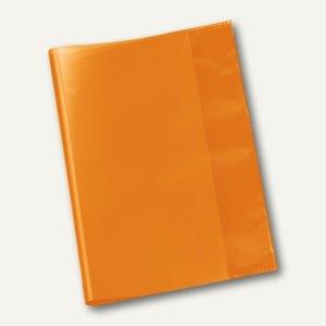 veloflex schulhefth lle din a5 pp folie transparent orange 25 st ck 1353030 b romaterial. Black Bedroom Furniture Sets. Home Design Ideas