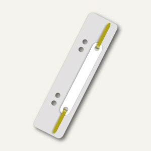 Heftstreifen, 34 x 150 mm, 250 my, PP, links gelocht, grau, 250 Stück, 2005081