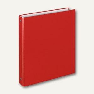 "Ringbücher ""Basic"", DIN A4, PP, 4-Rund-Ringe Ø 16 mm, rot, 15 Stück, 4144920"