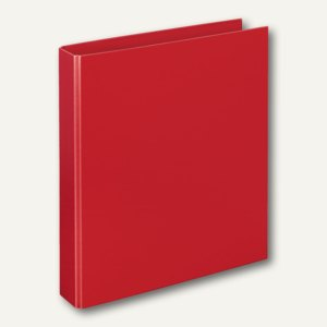"""Ringbücher """"Basic"""", DIN A4, PP, 2-D-Ringe Ø 30 mm, rot, 10 Stück, 4147020"""