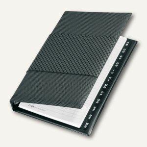 "Veloflex Telefonringbuch ""Silver"", PVC, 145 x 225 mm, grau/silber, 4152590"