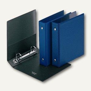 Veloflex Karteikartenordner DIN A6, 2 O-Ringe Ø 25 mm, sortiert, 10 St., 4167000
