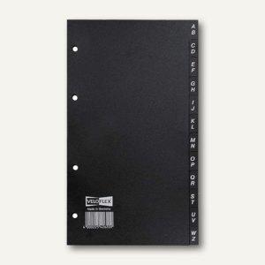 Veloflex Register für Visitenkarten- / Telefonbuch, A5, 12tlg., 10 St., 4262000
