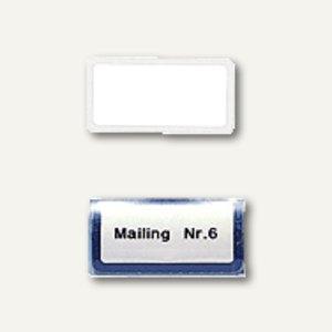 Registerschilder für Metallreiter