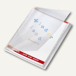 Veloflex Präsentationsbuch Crystal A4, PP,12 Hüllen, transparent, 12 St.,4412290