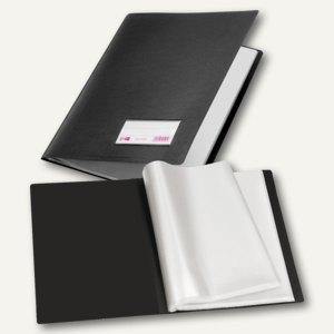 Veloflex Sichtbuch, DIN A4, PP, Sichtfenster, 30 Hüllen, schwarz, 10St., 4430180