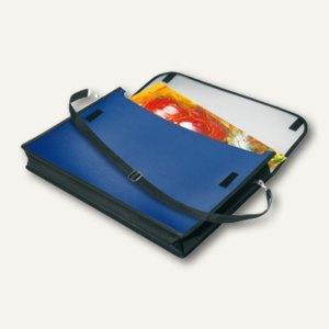 Veloflex Flexible VELOBAG® Zeichenmappe, A3 quer, PP, sortiert, 6 Stück, 4431400