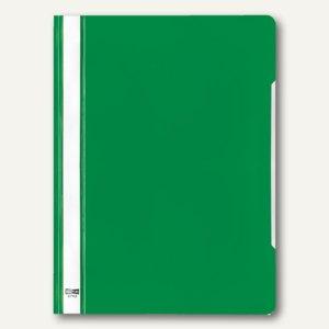 Veloflex Schnellhefter VELOFORM®, A4, PVC, glasklar/grün, 25 Stück, 4742040