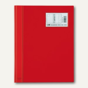 Veloflex Schnellhefter VELOFORM® DIN A4, PVC, Namensschild, rot, 10 St., 4743021