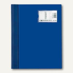 Veloflex Schnellhefter VELOFORM® DIN A4, PVC, Namensschild, blau, 10 St.,4743050