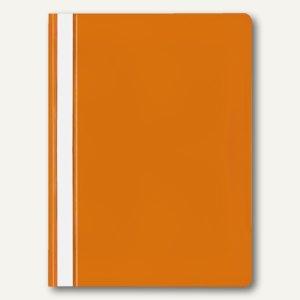 Veloflex Schnellhefter VELOFORM®, A4, PP, transparent/orange, 20 Stück, 4748030