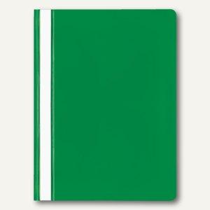 Veloflex Schnellhefter VELOFORM®, A4, PP, transparent/grün, 20 Stück, 4748040