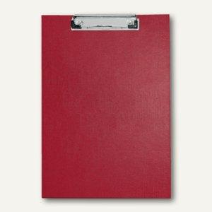 Veloflex Schreibplatte, A4, PP, rot, Metallklemme, Hängeöse, 10 Stück, 4814920