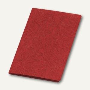Präsentationsmappe A4, Karton, Klemmschiene, bis 30 Blatt, rot, 10 St., 4942020
