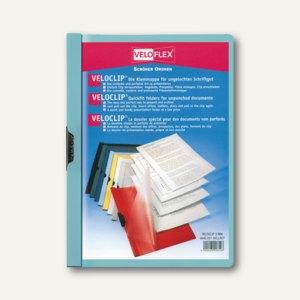 Veloflex Klemmmappe VELOCLIP® DIN A4,Hart-PVC,Metallclip, hellblau,25St.,4945052