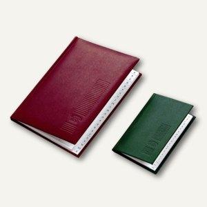 Adressbuch A7, Kunstleder, 21 tlg. A-Z Register, sortiert, 10 St., 5178200