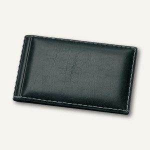 """Veloflex Visitenkartenbuch """"Exquisit"""" für 24 Visitenkarten, schwarz, 5276780"""