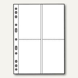 Veloflex Fotohüllen, DIN A4, für 9 x 13 cm hoch, für 8 Fotos, 50 Stück, 5347100