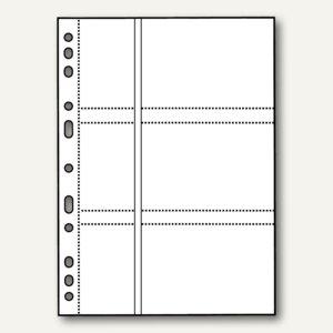 Veloflex Fotohüllen, DIN A4 für 9 x 13 cm quer, für 6 Fotos, 50 Stück, 5347200