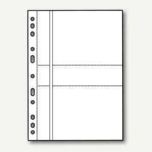 Veloflex Fotohüllen, DIN A4, für 13 x 18 cm quer, für 4 Fotos, 50 Stück, 5347500