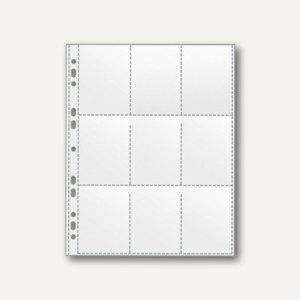 Veloflex Sammelhülle DIN A4, 9 Fächer 65 x 97 mm, PP 120 my, 100 Stück, 5349000