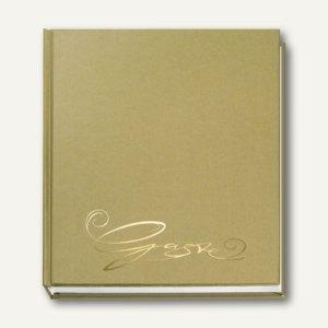 """Veloflex Gästebuch """"Classic"""", 205 x 240 mm, 144 Seiten, gold, 5420011"""