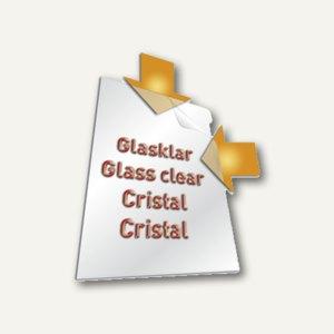 Durable Sichthüllen A3 glasklar, oben&Seite offen, Griffstanzung, 10St., 231419