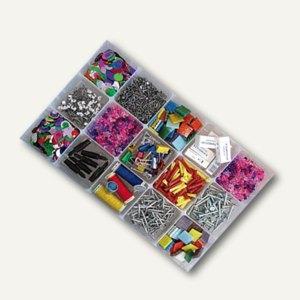 Really Useful Box Kleinteilbox Einsatz, 15 Fächer, 345 x 215 x 35 mm, 4CDIV2HOB