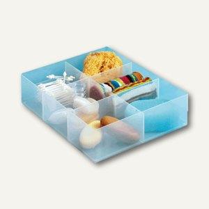 Really Useful Box Kleinteilbox Einsatz, 6 Fächer, 370 x 300 x 90 mm, LGDIV6