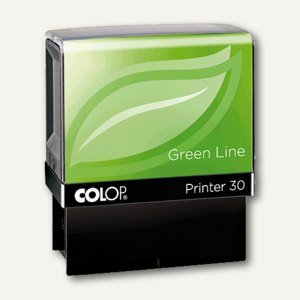 Colop Printer 40 GREEN LINE, mit Gutschein, 23x59mm, 6 Zeilen, 1084702202