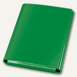 Klettheftbox/Sammelmappe, Klettverschluss, 320 x 230 x 33 mm, grün, 12 St., 1441