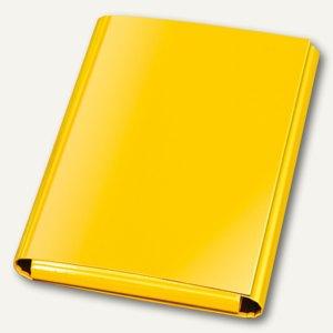 Klettheftbox/Sammelmappe, Klettverschluss, 320 x 230 x 33 mm, gelb, 12 St., 1441