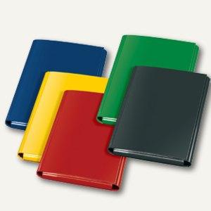 Klettheftbox/Sammelmappe, Klettverschluss, 320 x 230 x 33 mm, sort., 12 St., 144