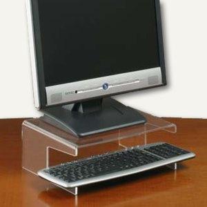 Monitorständer für TFT m. Tastaturablage