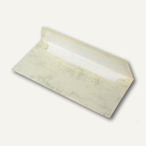 Briefumschläge mit Seidenfutter DL, 100g/m², chamois marmora, 100 St., 16400206