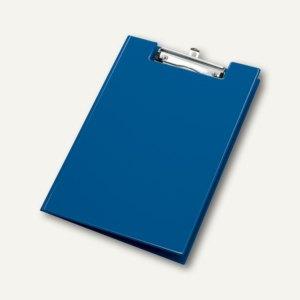 Veloflex Klemmmappe DIN A4, PVC, mit Seitentasche, blau, 10 Stück, 4804050