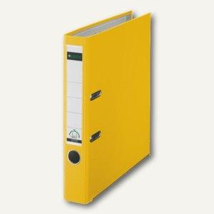 LEITZ Kunststoffordner 180°, Rückenbreite 52 mm, gelb, PP, 1015-50-15